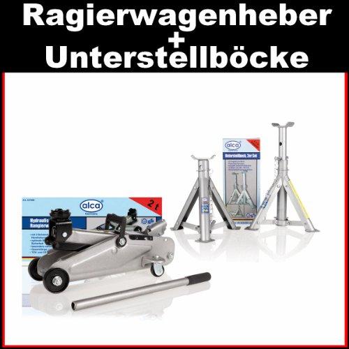 Alca PKW Hydraulischer Rangierwagenheber Wagenheber