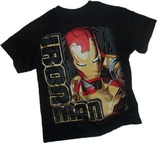 Looking Right -- Iron Man 3 Movie Youth T-Shirt