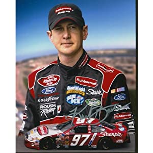 Kurt Busch Signed Photo - 8x10 - Autographed NASCAR Photos by Sports Memorabilia