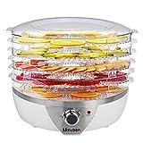 Homdox-Dampfgarer-Drrautomat-Frchtetrockner-mit-6-Etagen-500-Watt-Drrgert-einstellbare-Temperatur-mit-Timer-programmierbar-wei