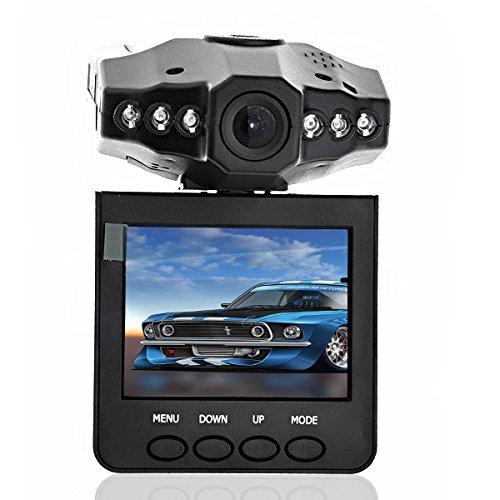 Foxnovo SC189 Portable Car Mount DVR Video Recorder Camcorder mit Nachtsicht Audio (schwarz)