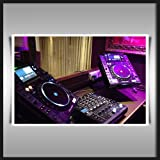PIONEER DJ CDJ 2000 & DJM-900 NEXUS MIXER A1 SATIN PAPER ART PRINT