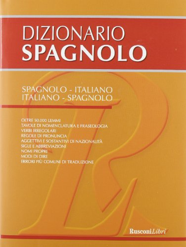 Dizionario spagnolo Spagnolo italiano italiano spagnolo PDF