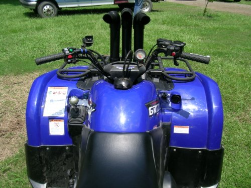 Submarine Snorkels SSG660 3 Stack Snorkel Kit for Yamaha Grizzly 660