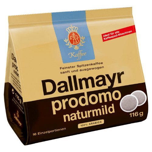 Dallmayr prodomo naturmild, 16 Coffee Pods