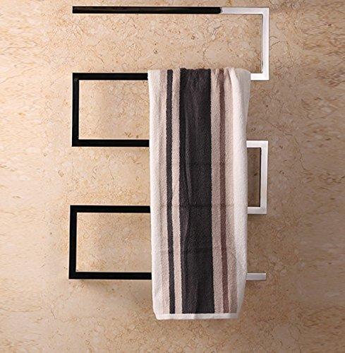 Riscaldamento elettrico porta asciugamani in Acciaio Inox portasciugamani riscaldato il tubo quadrato di Toxoplasma gondii in acciaio inossidabile