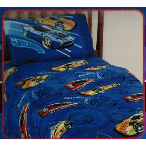 Wonderful Hot Wheels 3 Piece Twin Sheet Set Reviews