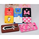 JBG Cute Disney Cartoon Shadow Soft Silicone Back Case Cover for Samsung Galaxy Note 3 III N9000 Minnie Mouse