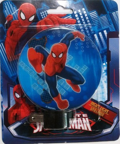 Marvel Ultimate Spider-Man [Spiderman] Night Light + LED Bulb - 1