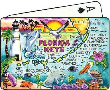 Florida Keys Collectible Souvenir Playing Cards