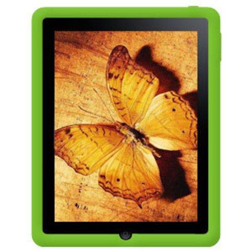 Imagen de Amzer la jalea del silicón de la piel para la tableta iPad de Apple, (Verde)