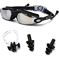 Baen Sendi Swimming Goggles with Siamese Ear Plugs