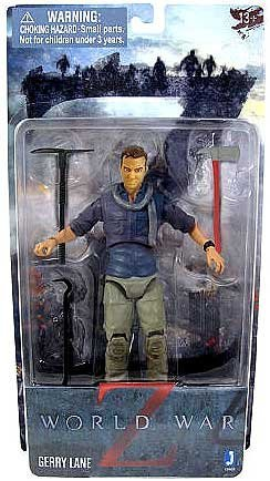 World War Z Movie 2013 SDCC San Diego Comic-Con Exclusive 6 Inch Action Figure Gerry Lane [Brad Pitt] by Jazwares