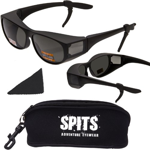New Spits Escort- These Sunglasses Fit Over Prescrition Eyewear - Anzi Z87.1+ Safety Compliant front-1031169