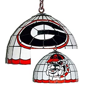 Amazon - University of Georgia hanging light stained glass - $15
