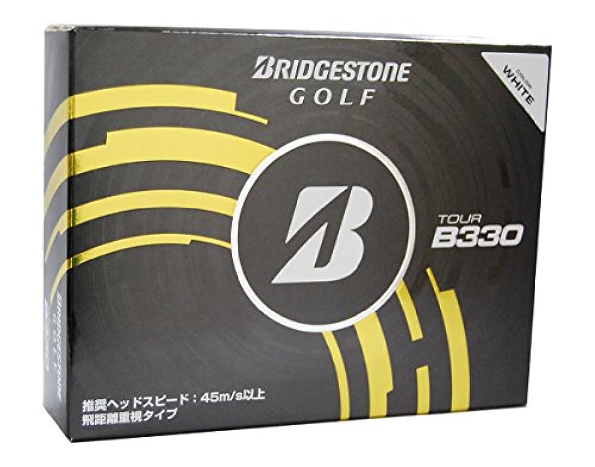 [해외] BRIDGESTONE(브리지스톤) TOUR B330(화이트) BBWXJ (2014-09-05)