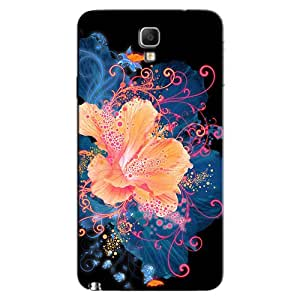 ABSTRACT FLOWER DESIGN BACK COVER FOR SAMSUNG GALAXY NOTE 3 NEO