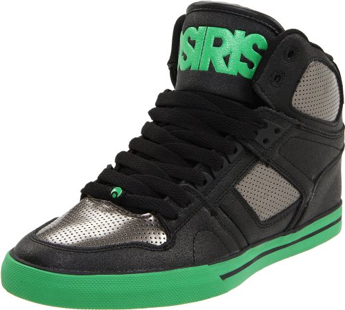 Osiris Unisex - Adults Nyc'83-Vulc Sports Shoes - Skateboarding 602085 Blk/Gun/Grn 9 UK