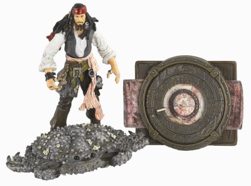 Pirates Of The Carribean 3: Jack Sparrow with Transforming Crab & Navigational Chart