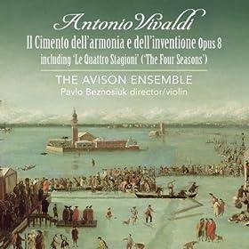 Vivaldi: Concerti Opus 8, Including 'The Four Seasons'