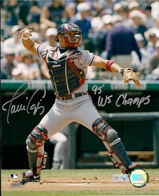 Autographed Javier Lopez 8x10 Atlanta Braves Photo