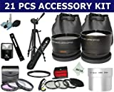 21 Pcs Kit for CANON POWERSHOT A700 A710 A720 IS  + Tripod and More