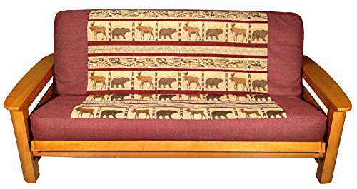 Lifestyle Covers Moose And Bear Futon Cover Full
