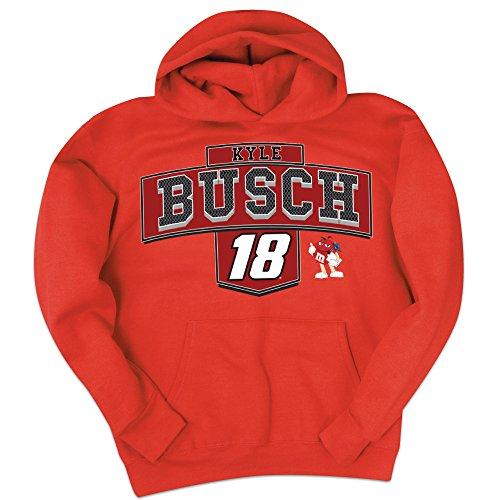 kyle-busch-18-nascar-hooded-sweatshirt-x-large
