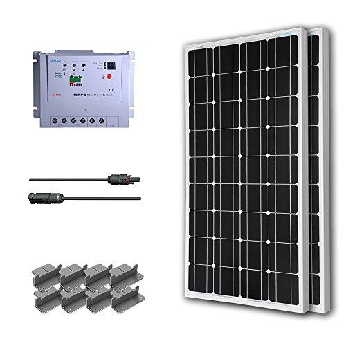 RENOGY® Premium Solar Panel Kit 100W Monocrystalline
