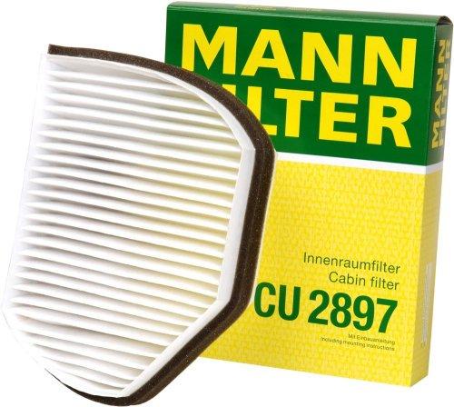 Mann-Filter CU 2897 Cabin Filter for select  Mercedes-Benz models
