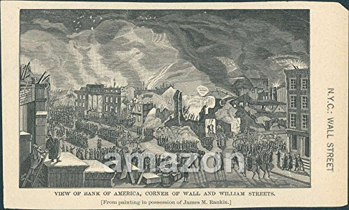 antique-print-view-of-bank-of-america-corner-of-wall-and-william-street-ajs-166