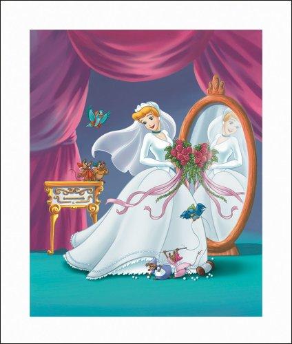 "Art 4 Kids ""Cinderella Wedding"" Mounted Art Print, 20""X23"" front-666170"
