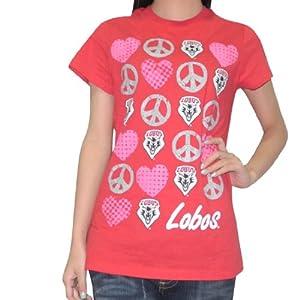 NCAA New Mexico Lobos Ladies Crew-Neck Cotton T-Shirt Tee by NCAA