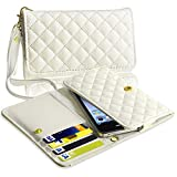 eForCity White Leather Wallet Case compatible with the New Apple iPhone 5 Reviews