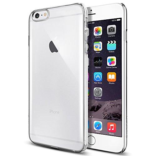 iPhone 6 Plus ケース, Spigen®  [滑り防止加工]  シン ・フィット Apple iPhone (5.5) アイフォン 6 プラス カバー (国内正規品) (クリスタル・クリア SGP10885)