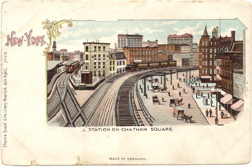 1900 Vintage Railroad Postcard