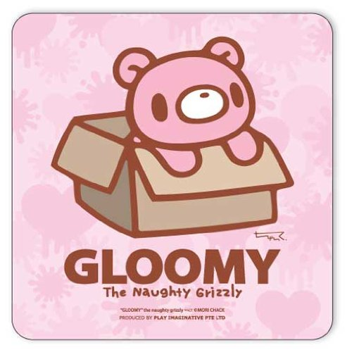 Baby Gloomy Bear In A Box Mouse Pad