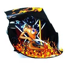 Auto-darkening Solar Welding Mask Professional Welder Mask Arc/Mig Welding Mask (Universal Fit Design)