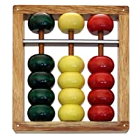 Pacchi Wood Beginner Abacus - Tomoe Soroban