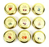 Natural Thai Beeswax Lip Balms - mixed pack of 6