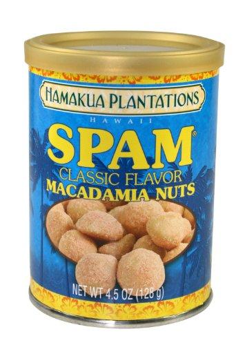 Spam Macadamia Nuts 4.5 Oz