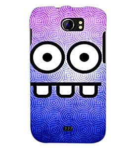 PrintDhaba Cartoon D-2855 Back Case Cover for MICROMAX A110Q CANVAS 2 PLUS (Multi-Coloured)