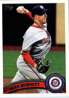 2011 Topps Update Series Baseball Card #US102 Sean Burnett - Washington Nationals - MLB Trading Card
