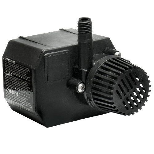 Beckett g210ag 210 gph small pond pump 115 volt best for Best pond pump for small pond