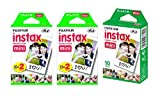 Fujifilm-Instax-Mini-Instant-Film-5-Pack-BUNDLE-Includes-Qty-2-Instax-Mini-Twin-10-Sheets-x-2-packs-40-Sheets-Instax-Mini-Single-10-Sheets-Total-50-Pictures