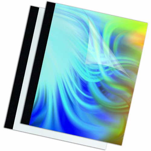 Fellowes-Binding-Thermal-Presentation-Covers-38-Inch-ClearBlack-Holds-90-Sheets-10-Pack-5256101