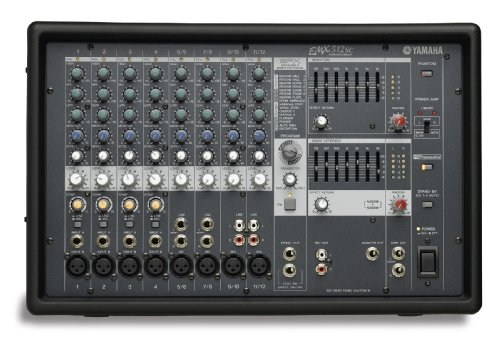 Yamaha EMX512SC 8 Input Powered Mixer  Dual 500