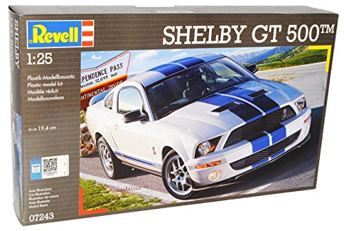 Ford Shelby Mustang Gt500 GT 500 Coupe 07243 7243 Bausatz Kit 1/24 Revell Modellauto Modell Auto
