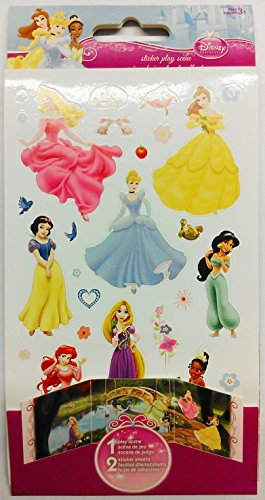Disney Princess Sticker Play Scene