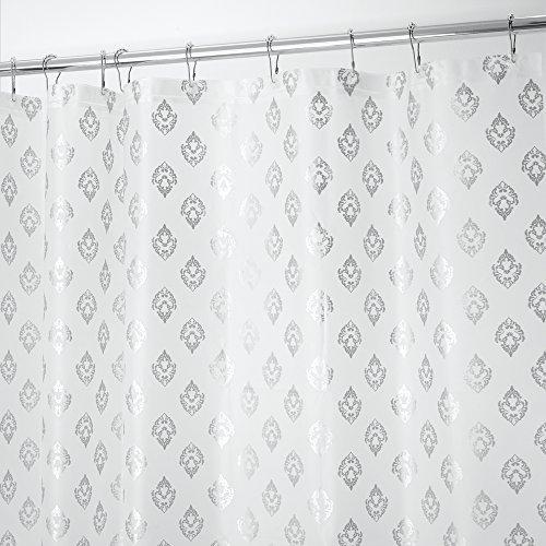 mdesign-dekorativer-pvc-freier-peva-3-gauge-duschvorhangfutter-180-x-180-cm-silberfarben